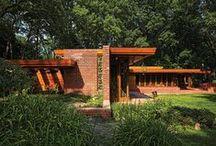 FLLW - Maxwell-Smith House / Melvyn Maxwell and Sara Stein Smith House (1949)