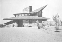 FLLW - Boomer House / Jorgine Boomer House. Phoenix, Arizona. 1953. Usonian Style.