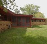 FLLW - Smith House, Richard / Richard Smith House. 1950. Jefferson, Wisconsin. Usonian Style