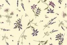 Moda Fabrics: The Potting Shed by Holly Taylor / Holly Taylor and Juberry Fabrics bring you this fabulous new range inspired early spring walks to the Potting Shed. Patterns showing birds, seedlings, ferns and leaves on a background of cream, purple, green and brown you can easily make your own Potting Shed Quilt Garden.