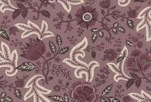 Ville Fleurie Bordeaux from French General / Juberry Fabrics bring you the latest creation from French General. Floral patterns in gorgeous lavender, purple, ivory and faded red will delight you. This range is called Ville Fleurie (flowery city) and has been inspired by the abundance of flowers hanging from balconies and terraces in France.