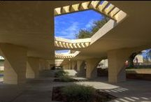 FLLW - Florida Southern College / Lakeland Florida. Built 1940-55