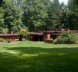 FLLW - Christie House / James B. Christie House built in 1940, seven-acre site in Bernardsville, New Jersey
