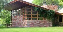 FLLW - Blair Residence, Quintin & Ruth / Quintin & Ruth Blair Residence. 1952. Cody, Wyoming. Usonian Style.