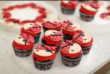 Cupcake y Cake Pops / Selección de cupcakes y cake pops que podréis encontrar la receta en el blog mylovelyfood.blogspot.com
