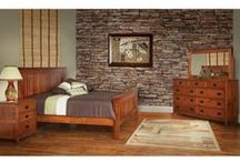 Beautiful Bedrooms / Beautiful Amish bedroom furnishings and ideas for creating your own refuge!