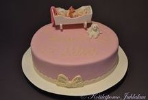Christening / naming / baby shower cakes / Christening, naming and baby shower cakes... In other words, all baby related cakes!