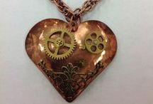 My creations / Steampunk Jewelry etc.