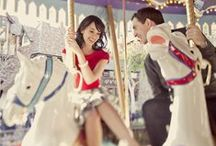 Engagement Session Ideas / Fun, creative, new ideas for your engagement session / by Sarah Warden Photography