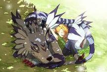 Pokemon ♥ Digimon / Animated series.