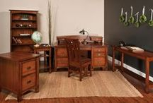 Office / Beautiful Amish built furniture for your office