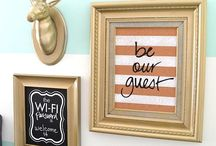 Ideas I love for my home & my dream home!