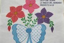 Let's learn embroidery / tutoriais, pontos e receitas.