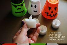 Syksy Halloween / Tunnelmaa pesään