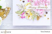 Altenew Wedding Cards