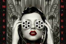 Beautiful/Interesting Film Posters/Movie Related Pics / Graphic film posters, film festival