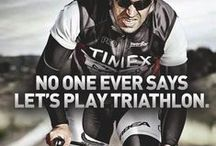 Triathlon on / by Trail Genius