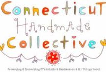 Connecticut Handmade Collective Shops / Hey you amazing Connecticut artists & crafters! This board is for you to shamelessly promote your art + handmade goods. PIN ITEMS THAT LINK TO YOUR SHOPS & SHOW YOUR HANDMADE GOODS. ALSO PIN EVENTS, TUTORIALS, BIZ TIPS - ANYTHING COOL & ARTSY ABOUT CT OR HELPFUL TO CT CREATIVES! Become part of our happy, uplifting, positive, art collective. Please like & share our Facebook page at https://www.facebook.com/cthandmadecollective. Thanks CHC-ers!!