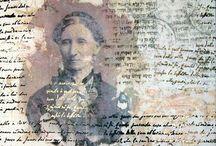 Identity / Identity Inspiration Board for Final Art Foundation Project