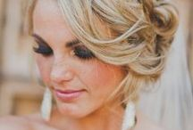 Bridal Beauty / Hair, makeup and nail ideas for the beautiful bride!