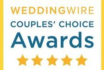 Awards & Testimonials / Awards we have won as well as reviews and testimonials from those who entrusted us with their special day.  Thank you for all of the kind words, we truly appreciate it!