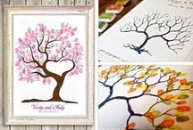 """Guest Book Ideas / Clever ideas for your wedding guest """"book."""""""