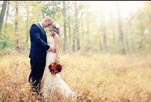 Fall Weddings / Autumn wedding inspiration.