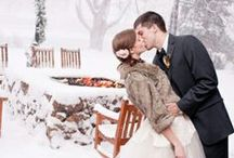 Winter Weddings / Inspiration for your winter wonderland wedding!