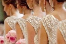 MOH & Bridesmaids / Bouquets, gowns & gift ideas for your girls!