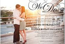 Wedding Invitations / Invitation inspiration!