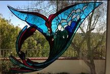 Stained glass, tiffany technic 1