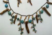 Boho, tribal and talisman jewelry