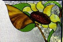 stained glass, tiffany technic 3, small