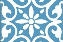 Encaustic cement tile. / CTS encaustic cement tile collection.