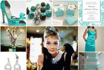 Tiffany & Co. Inspired Wedding / Each month we will feature a different wedding theme. May's theme is a Tiffany & Co. inspired wedding! Have a theme idea or need help finding ideas for your wedding? Message us and we will feature your theme and help you find the best ideas for your wedding!