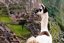 South America, I wanna go!