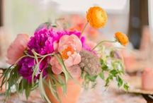 Summer Flowers / Whether they're wildflowers or beach-themed wedding bouquets, these bright flower arrangements are the perfect touch of summer to help brighten your day.
