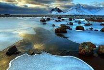 L'eau / Rivières, lacs, étangs, lagons... L'eau, sous toutes ses formes liquides !