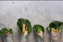 Recipes — fresh spring rolls & sushi