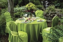 GOING GREEN / green wedding inspiration, details & tablescapes