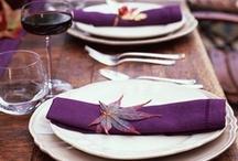 PURPLE / Purple, plum and grape wedding inspiration, details & tablescapes
