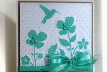 Cards Wildflower meadow SU / by Judy Doudera