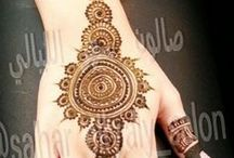 Mehndi / This board is all about Mehndi(temporary tattoo) Designs with lots of variations like type,color. It gives red colour and is mostly applied in India on every special occasion or festivals.