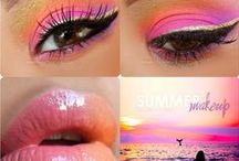 Makeup ideas / Have ideas to put different style of eye makeup,nail paint,lipsticks.