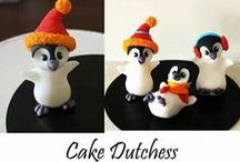 Cakes Cookies and cupcakes / Cute decorations,colorful fondant designs.