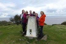 Sand Point Oct / A great 5.5 mile circular Nordic walk from Sand Bay, taking in Woodspring Priory, Middle Hope and the Sand Point headland.  A perfect tea room to finish at too!