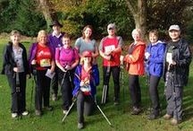 Nordic Challenge Lydiards Park Swindon Nov 2014 / A huge congratulations to all that took part in this, the 2nd Challenge event run by British Nordic Walking. Here are our walkers from Bristol picking up their well earned prizes!