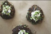 Recipes — fritters & patties