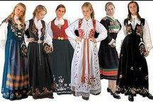 Norwegian (bunad) folk costume