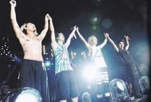 ONE OK ROCK Mighty Long Fall at Yokohama Arena / Mighty Long Fall in Yokohama Arena, September 13th&14th 2014.  P.S. I don't own the pictures so feel free to use it.